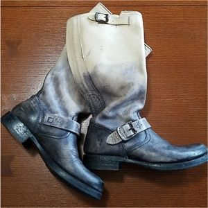 Frye Veronica Ombre Stonewashed size 7.5 *Rare*